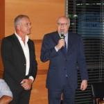 Presidente Alessandro Barillà e Cônsul Geral Riccardo Battisti