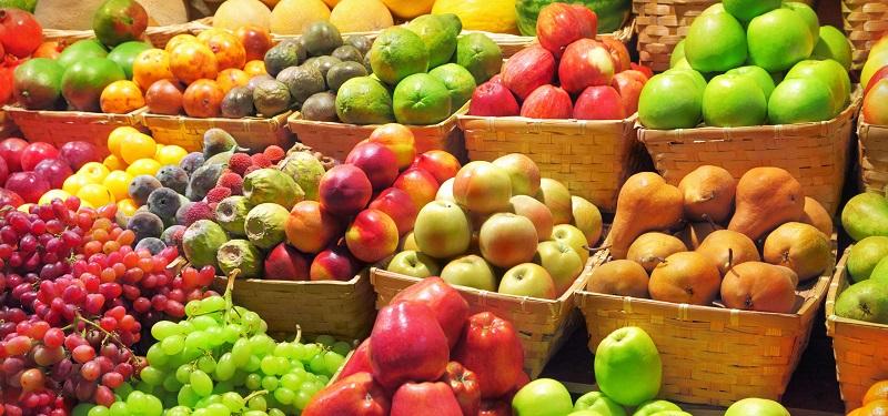 frutas que emagrecem na feira